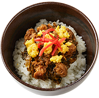 sides takana rice